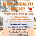 Mens Health Event pic