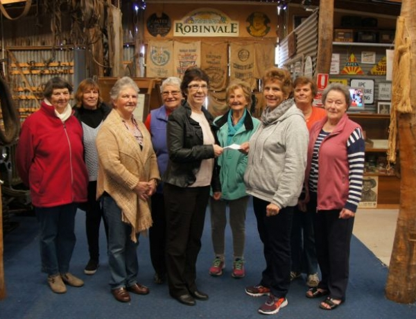 RDHS extends thanks to the Community Aid Centre Opp Shop