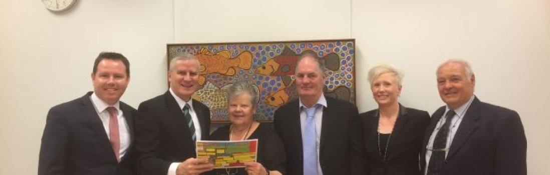 Robinvale District Health Services Representatives Return from Parliament House Canberra