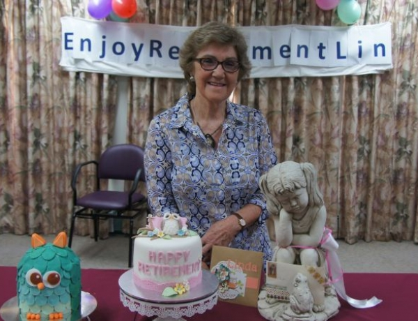 Retirement of Linda Stevens after 49 years of Service to RDHS