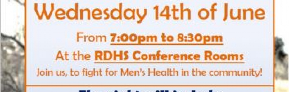 RDHS to host Mens Health Night – Wednesday 14th June 2017