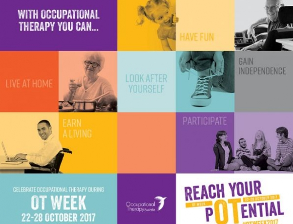 Lets Celebrate Occupational Therapy Week (22nd October 2017 – 28th October 2017)