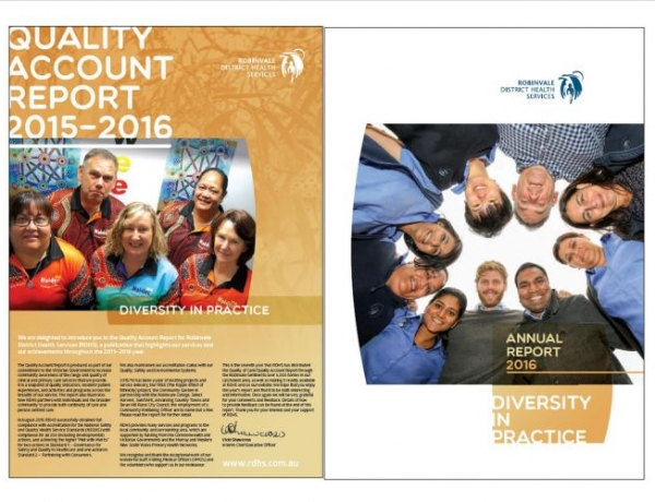 Quality Account Report 2015-2016 and RDHS Annual Report 2015-2016
