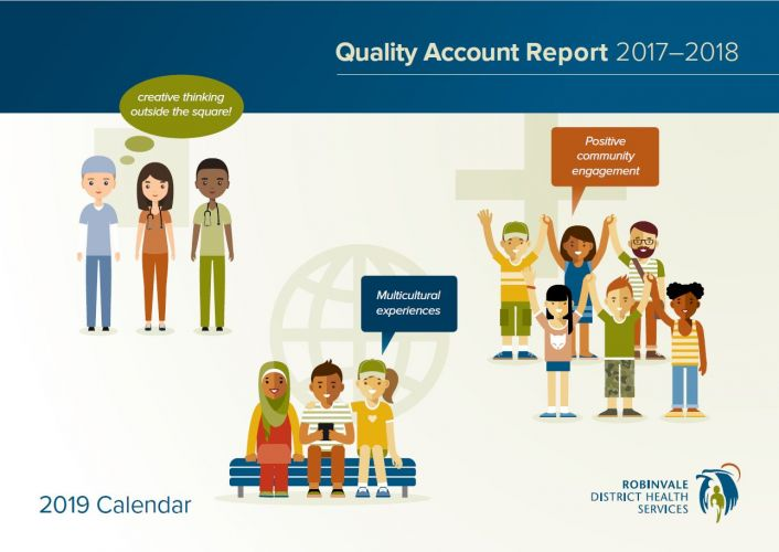 front cover of QA report 2017-2018 a