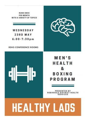 Healthy Lads – Mens information