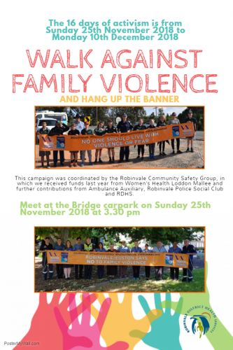 16 DAYS WALK AGAINST VIOLENCE