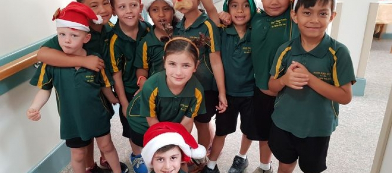Euston Public School Bring Christmas Cheer To Our Residents