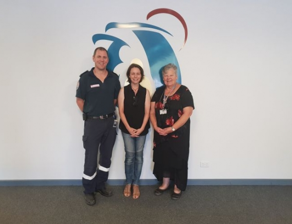 Visit to RDHS by newly elected Member for Mildura