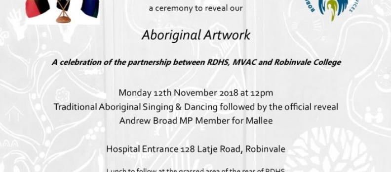 Aboriginal Art Project Reveal Community Celebration