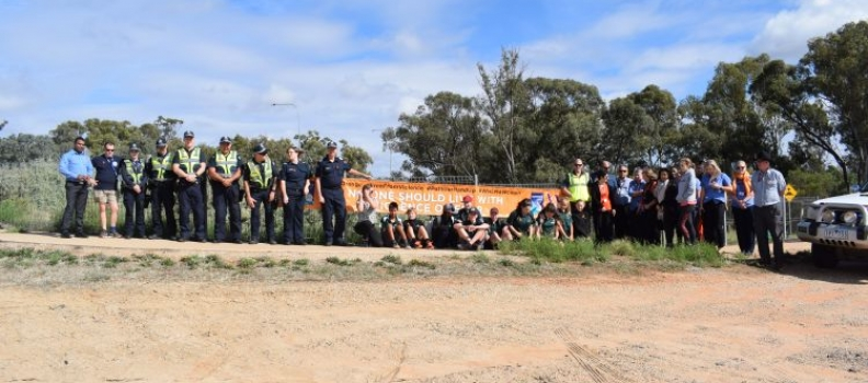 Robinvale's Walk against Violence