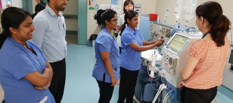 New Dialysis Machines for RDHS