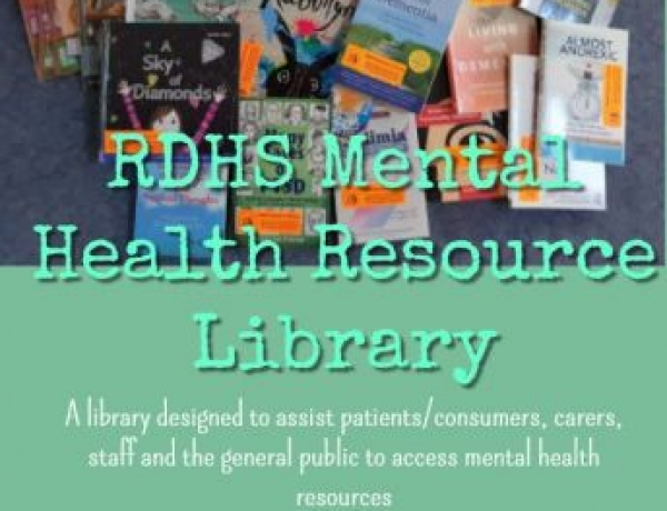 Mental Health Resource Library available at RDHS