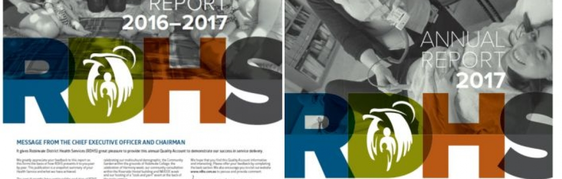 RDHS ANNUAL REPORT and QUALITY ACCOUNT REPORT 2016-2017