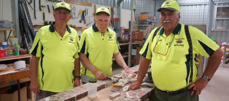 RDHS Robinvale Euston Mens Shed Funded Uniform Shirts