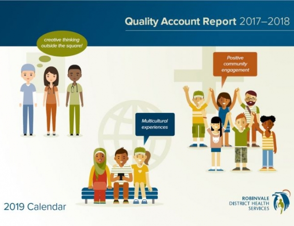 RDHS Quality Account Calendar for 2019
