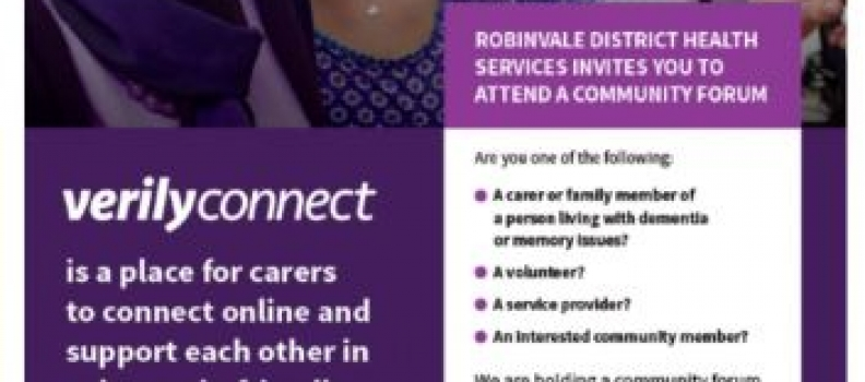 Verily Connect Information Session to be held in Robinvale